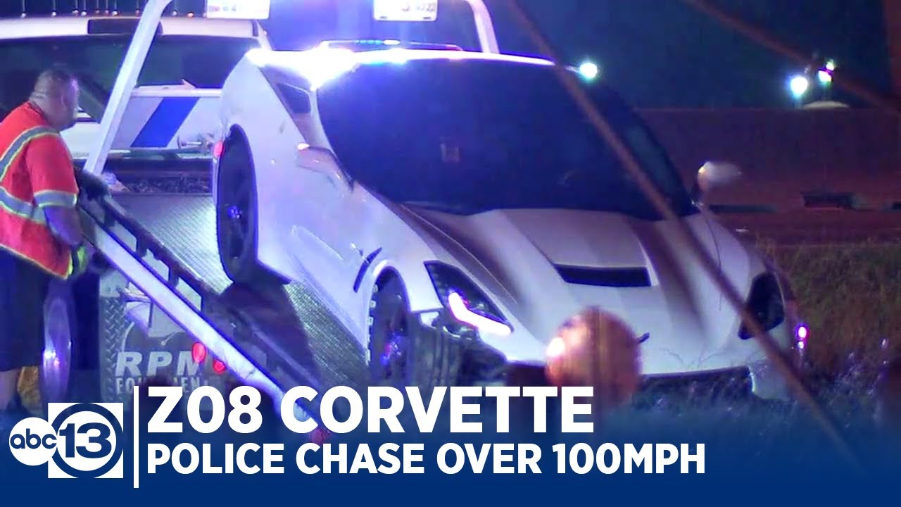 Z08 Corvette Leads Police on Chase Over 100 mph!