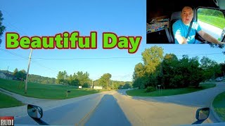 Looks like it's going to be a Beautiful Day Trucker Rudi 09-17-18 Vlog#1535
