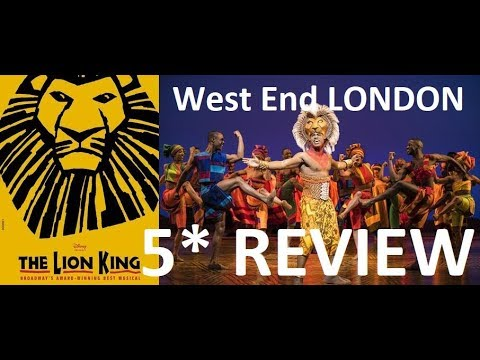 5 Hdtv Review The Lion King West End London Cast 2019 2020 20th Anniversary Cast Youtube