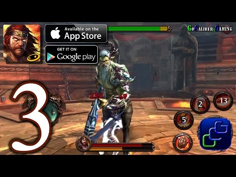 Eternal Warriors 4 Android IOS Walkthrough - Part 3 - Olthrose 8-10