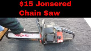 Will It Run? Yard Sale Chain Saw
