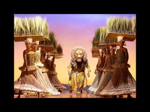 The Lion King Grassland Chant Youtube