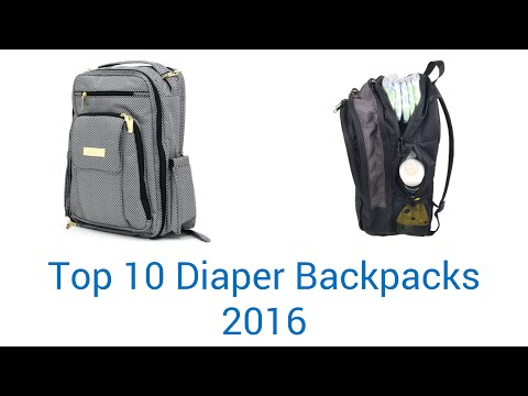 10 Best Diaper Backpacks 2016