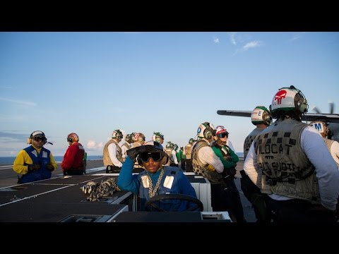 Life aboard the USS Eisenhower as it travels to the Mediterranean