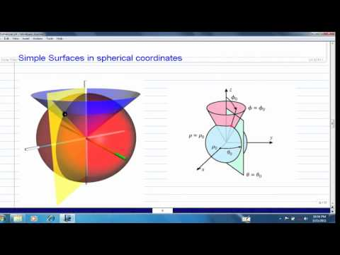 Intro to Spherical Coordinates