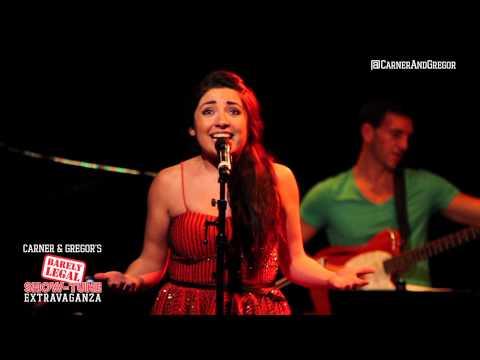 SHOULDERS DOWN - Nora Navarro (Carner & Gregor's BARELY LEGAL 2012-07-23)