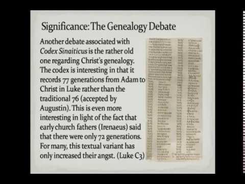 Codex Sinaiticus: What is It?