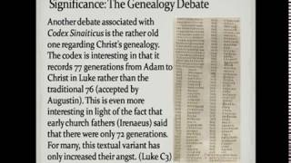 Codex Sinaiticus: What is It?