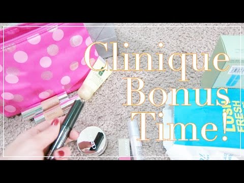 Clinique Bonus Time! • Nov. 14, 2016