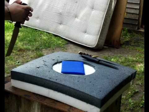 Knives vs Stab Proof  Vest Panel