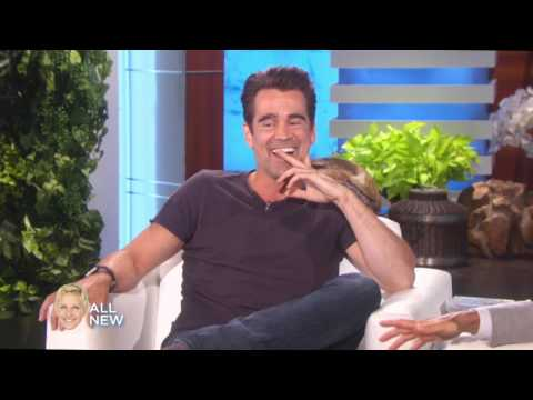 Colin Farrell on Ellen Monday, 05 08 17