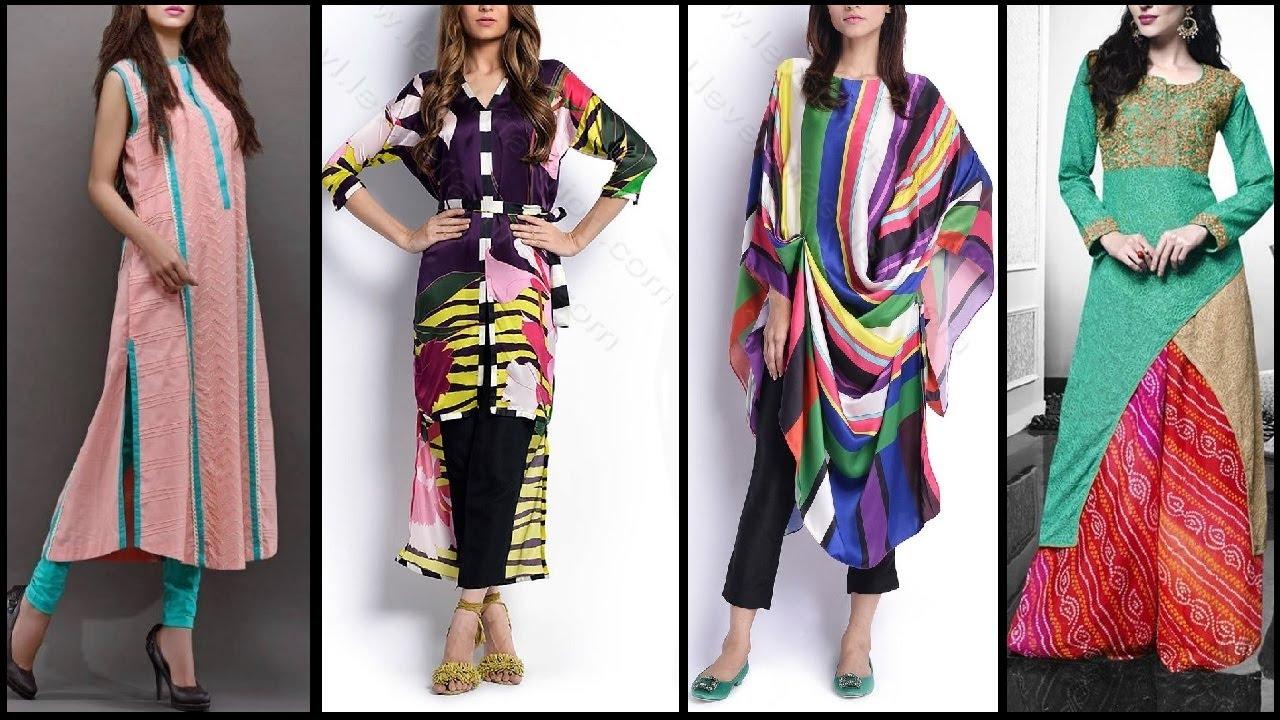 latest fashion top beautiful casual kurta kurti designs