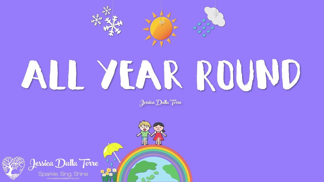 All Year Round - Jessica Dalla Torre (Official Lyric Video)