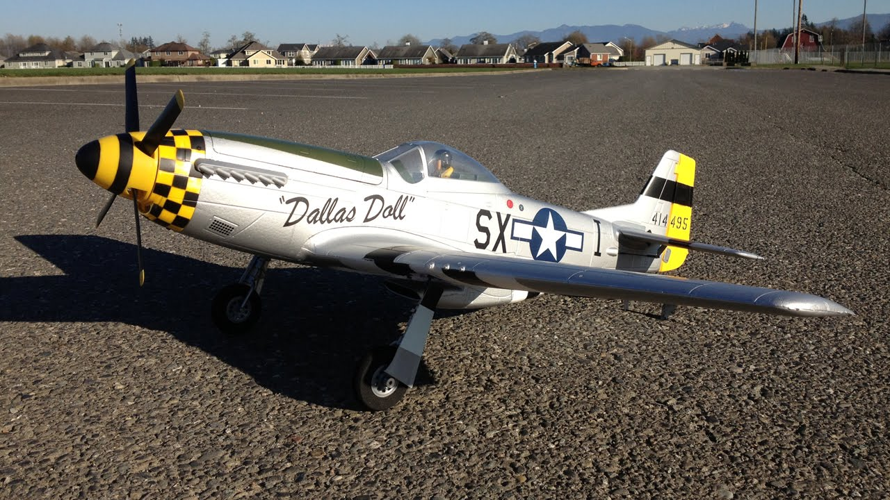 E Flite P 51 Mustang Force Rc P 51 Mustang Bnf Basic