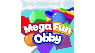 Roblox Mega Fun Obby - Getting to stage 550!