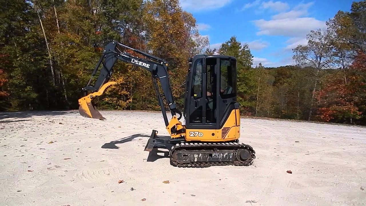 John Deere 27 Excavator | John Deere Excavators: John Deere