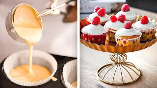 35 YUMMY CUPCAKE AND PANCAKE RECIPES || 5-Minute Dessert Recipes You'll Love!