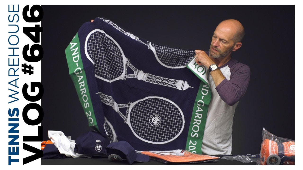 bonjour official roland garros merch tennis gear vlog 646