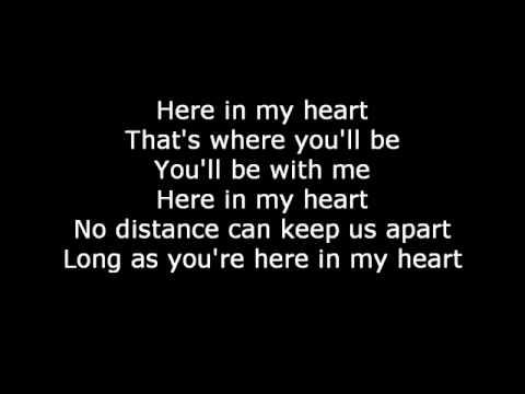 A Room in My Heart Lyrics - Faith Hill - Links 2 Love