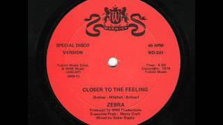 Zebra - Closer To The Feeling - 1976