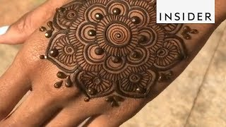 Young Artist Has Mastered Henna
