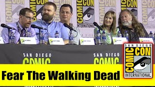 FEAR THE WALKING DEAD Comic Con 2019 Producer Panel (Robert Kirkman, Scott M. Gimple, Gale Ann Hurd)