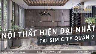 Thiết kế nội thất căn hộ Sim City quận 9 - Melydecor