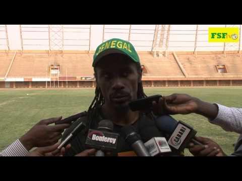 Aliou Cissé, interview d'avant match  Niger - Sénégal