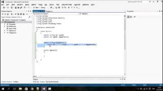 C# Console Constructor Yapıcı Metotlar Giriş