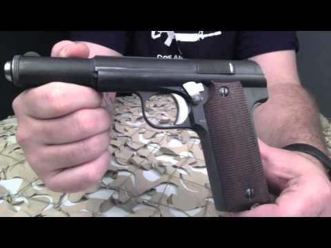 Astra Model 600 9mm Semi-Auto Pistol Overview - Texas Gun Blog