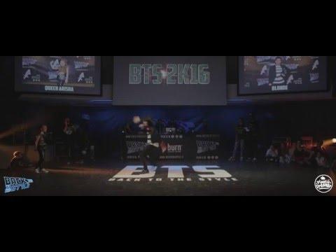 BTS 2K16 - 1/4 FINAL BATTLE WAACKING - QUEEN ARISHA VS BLONDE
