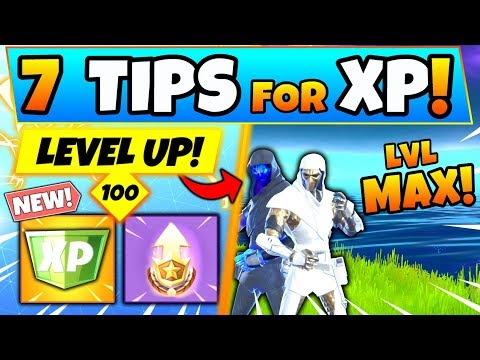 Fortnite XP: HOW TO LEVEL UP FAST To TIER 100! Tips, Tricks, And Medal Punchcard! (Battle Royale)