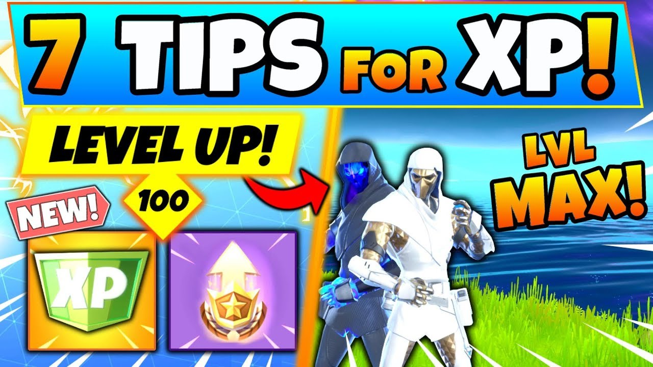 Fortnite Xp How To Level Up Fast To Tier 100 Tips Tricks And Medal Punchcard Battle Royale Youtube