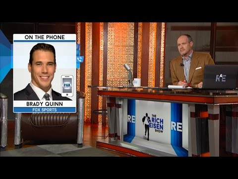 Brady Quinn of Fox Sports Talks Robert Griffin III, Johnny Manziel & More on The RE Show - 8/21/15