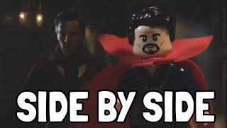 Doctor Strange - Trailer #2 IN LEGO (Side by Side Comparison)