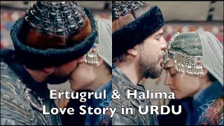 Ertugrul & Halima Full Love Story in URDU