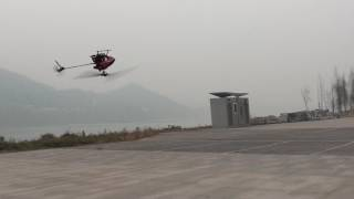 Walkera Mini CP 3D Flight in Winds