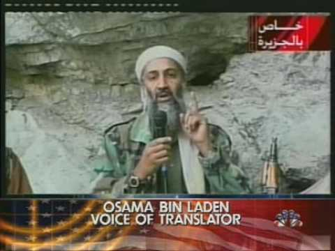 NBC Nightly News Oct 7, 2001 - America Strikes Back