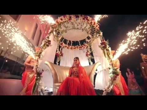 MESMERISING BRIDAL ENTRY THE GRAND AFFAIR EVENTS