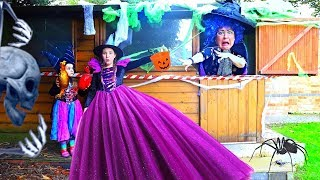 GRANNY THE WITCH | Halloween Song Nursery Rhymes for Kids by Ruby and Bonnie