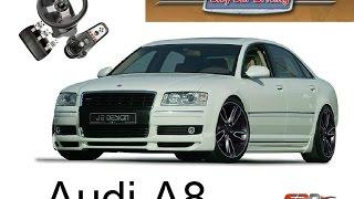 Audi A8 против Audi S8 тест-драйв, обзор автомобилей люкс класса City Car Driving