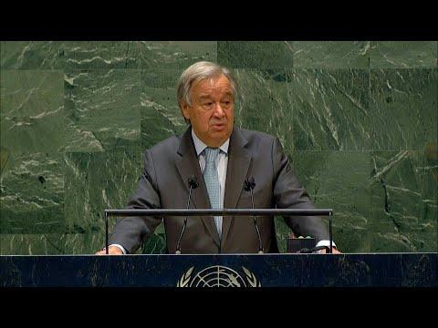 AFP Português: Guterres defende reconciliação   AFP