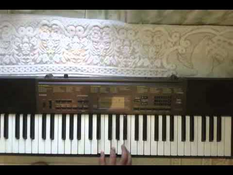 """Lesson #4 """"CHORDS PROGRESSION """" Learn Piano with Shrish Purohit THE HINDI bollywood style ;)"""