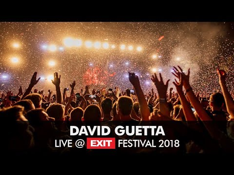 EXIT 2018  David Guetta Like I Do  @ Main Stage