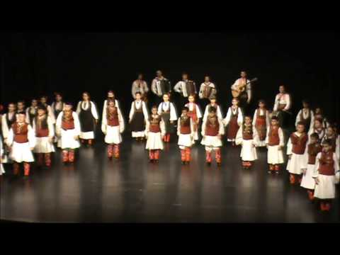 Ensemble ''Jonce Hristovski'' - Skopje, Macedonia (small group) in Pancevo, Serbia