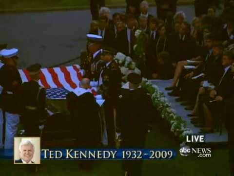 Sen. Ted Kennedy Is Laid to Rest