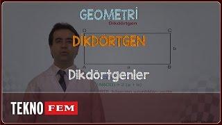 YGS-LYS GEOMETRİ - Dikdörtgenler