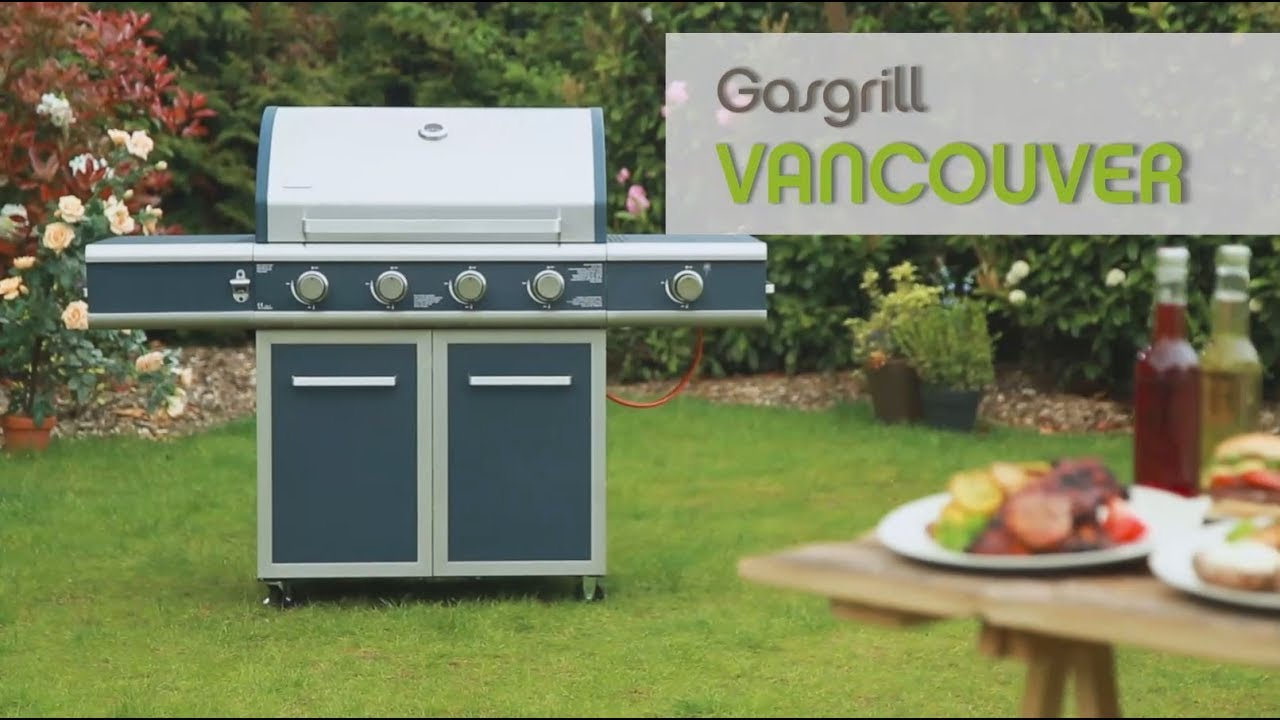 Tepro Gasgrill Vancouver Test : Gasgrill vancouver youtube
