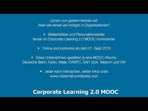 Corporate Learning 2.0 MOOC