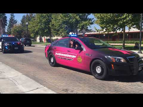 Ripon / Menlo Park Police Car Parade 2017 Part 1